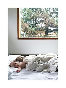 Affichette avec photo souvenir portrait blanc
