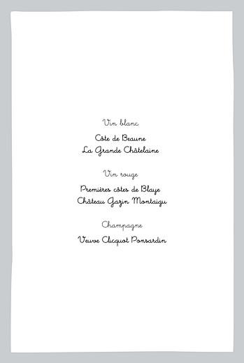 Menu de baptême Dandy (4 pages) gris - Page 2