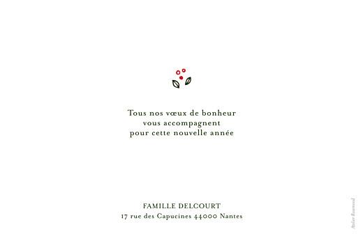 Carte de voeux Couronne d'hiver (3 photos) rouge - Page 2