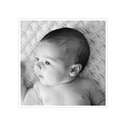 Faire-part de naissance Comptine 4 photos triptyque bleu page 2