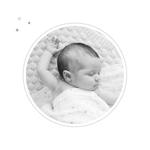 Faire-part de naissance Dans le ciel photo gris - Page 2