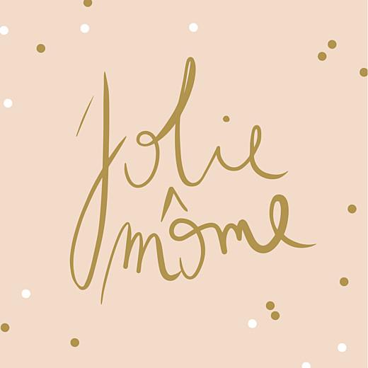 Faire-part de naissance Jolis mômes photo rose