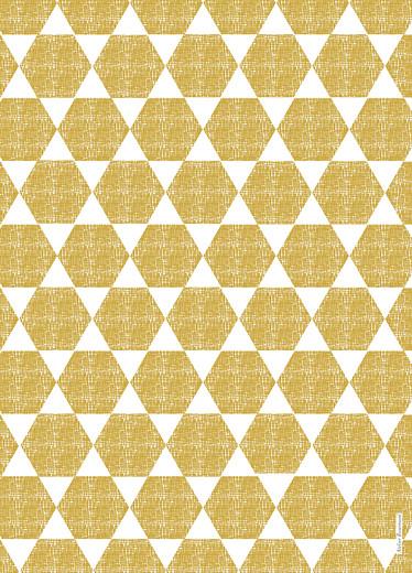 Livret de messe Toile de lin jaune - Page 4