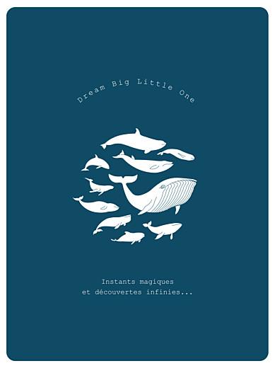 Affiche Baleine extraordinaire bleu - Page 1