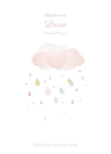 Livret de messe Tombe la pluie rose