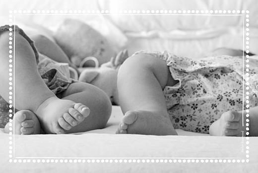 Faire-part de naissance Ma perle jumeaux 3 photos blanc - Page 4