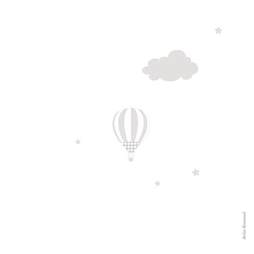 Faire-part de naissance Dans le ciel jumeaux (dorure) gris - Page 4