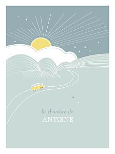 Affiche Sunshine jade