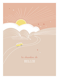Affiche Sunshine pêche