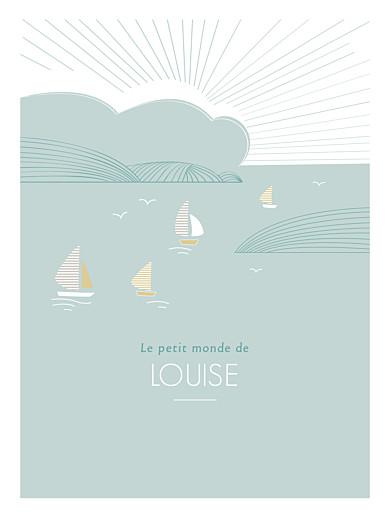 Affichette Horizon vert d'eau - Page 1