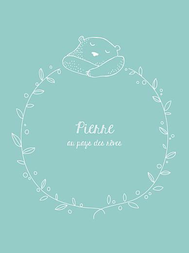 Affiche Petit ours bleu - Page 1
