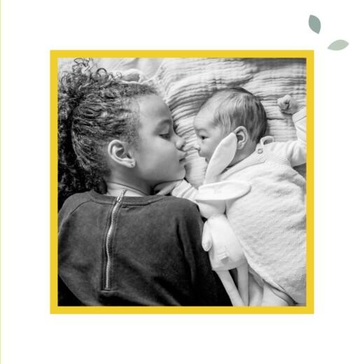 Faire-part de naissance Citrons (triptyque) jaune - Page 6
