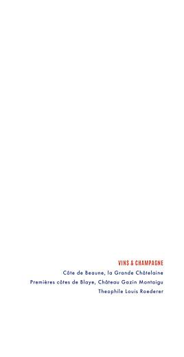 Menu de mariage Marinière (4 pages) bleu marine - Page 2