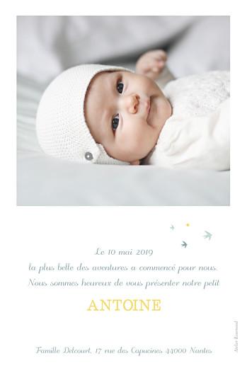 Faire-part de naissance Sunshine photo jade - Page 2