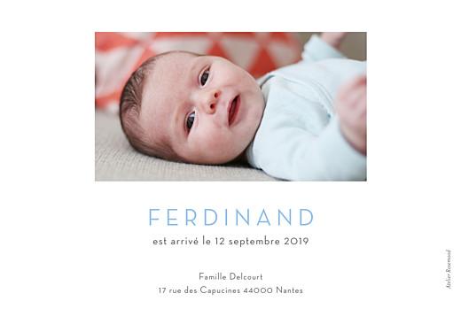 Faire-part de naissance Terrazzo rv photo clair - Page 2