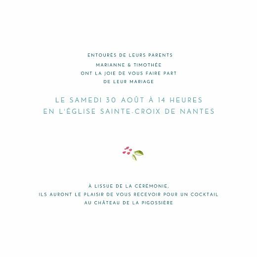 Faire-part de mariage Journée de printemps (4 pages) blanc - Page 3