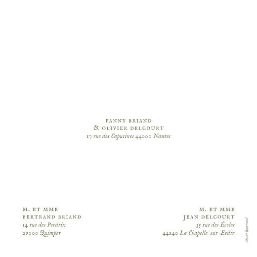 Faire-part de mariage Provence (4 pages) olive - Page 4