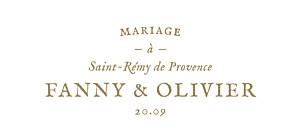 Etiquette de mariage classique provence kraft