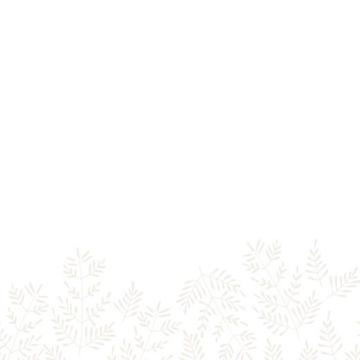 Faire-part de mariage Mille fougères (4 pages) beige - Page 2