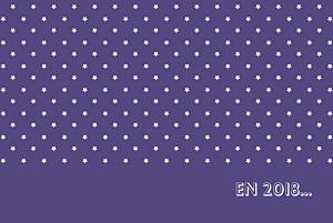 Carte de voeux Étoiles classique photo violet