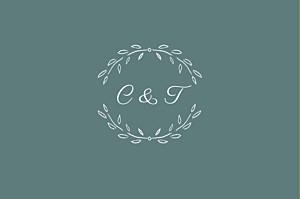 Carton réponse mariage Poème vert