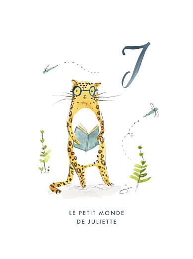 Affiche Abc… jaguar bleu - Page 1