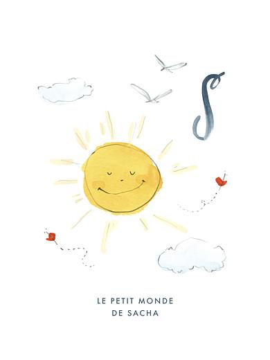 Affichette Abc… soleil bleu - Page 1