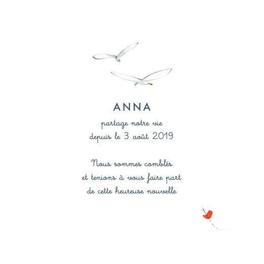 Faire-part de naissance Abc... avion blanc - Page 3
