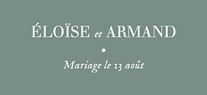 Etiquette de mariage vert nature chic vert