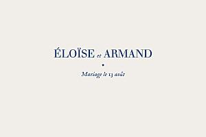 Carton d'invitation mariage dorure nature chic (dorure) bleu