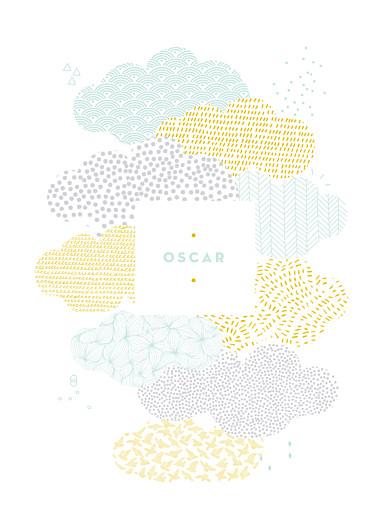 Affichette Sur un petit nuage mixte - Page 1