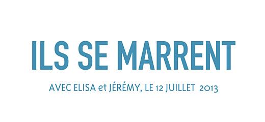 Etiquette perforée mariage Marrons-nous bleu fonce