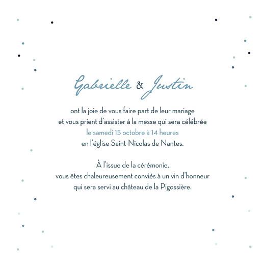 Faire-part de mariage Nuit d'été (4 pages) bleu - Page 3