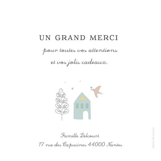 Carte De Remerciement Petit Village Rosemoodbe