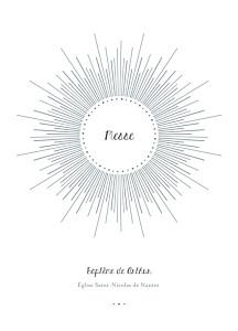 Livret de messe original lumière blanc
