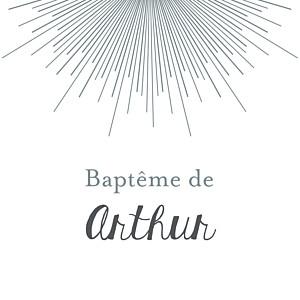 Etiquette de baptême jumeaux lumière blanc