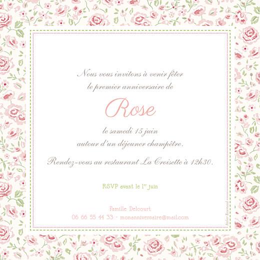 Carte d'anniversaire Félicité rose - Page 2