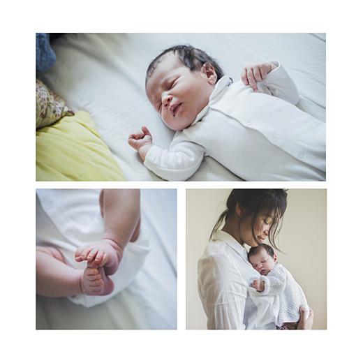 Faire-part de naissance Promesse (3 enfants) grand frère - Page 2