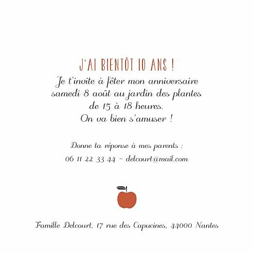 Carte d'anniversaire Petits fruits pomme - Page 3