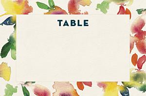 Marque-table mariage original bloom mt beige