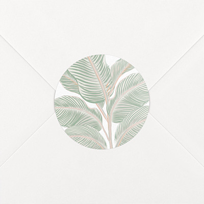 Stickers mariage equateur vert
