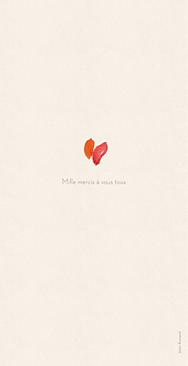 Menu de mariage Bloom beige - Page 4