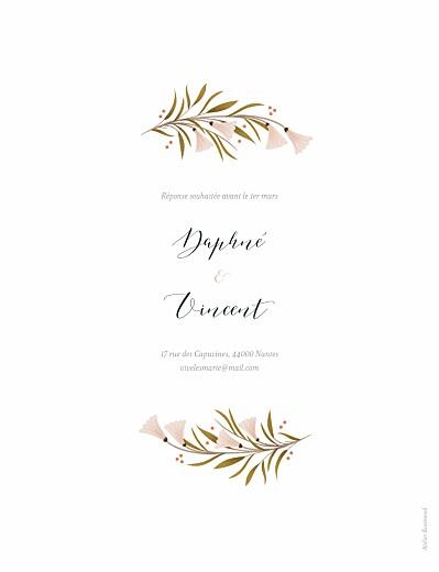 Faire-part de mariage Daphné printemps - Page 2
