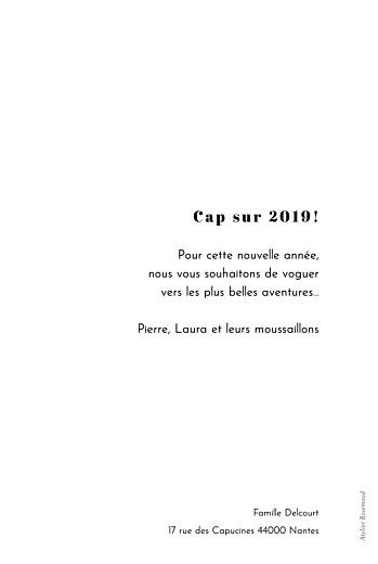 Carte de voeux Renversant blanc - Page 2