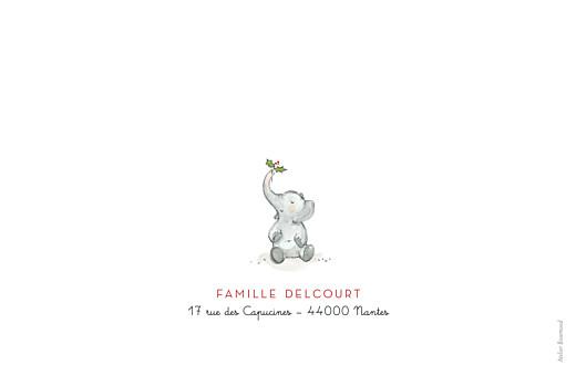 Carte de voeux Le noël des 4 éléphants blanc - Page 4