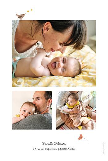 Faire-part de naissance Forêt enchantée beige - Page 2