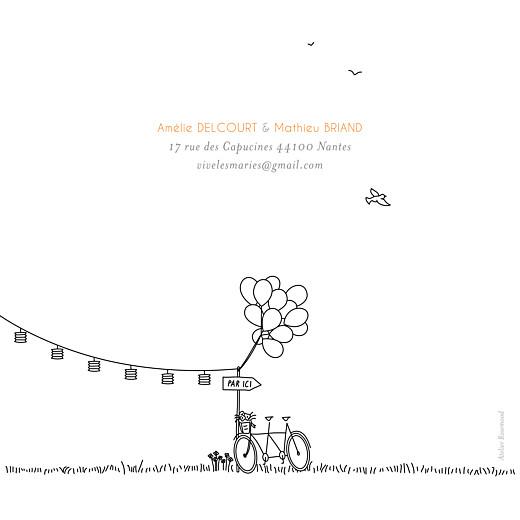Faire-part de mariage Promesse champêtre (4 pages) blanc - Page 4