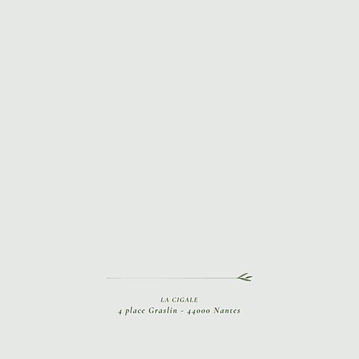 Faire-part de mariage Joli sous-bois (4 pages) vert - Page 2