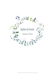 Livret de messe marguerite courtieu bouquet sauvage violet
