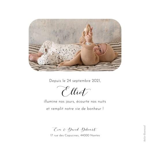 Faire-part de naissance Tendre innocence blanc - Page 2